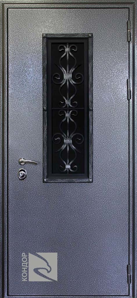 дверь железная коттедж цена
